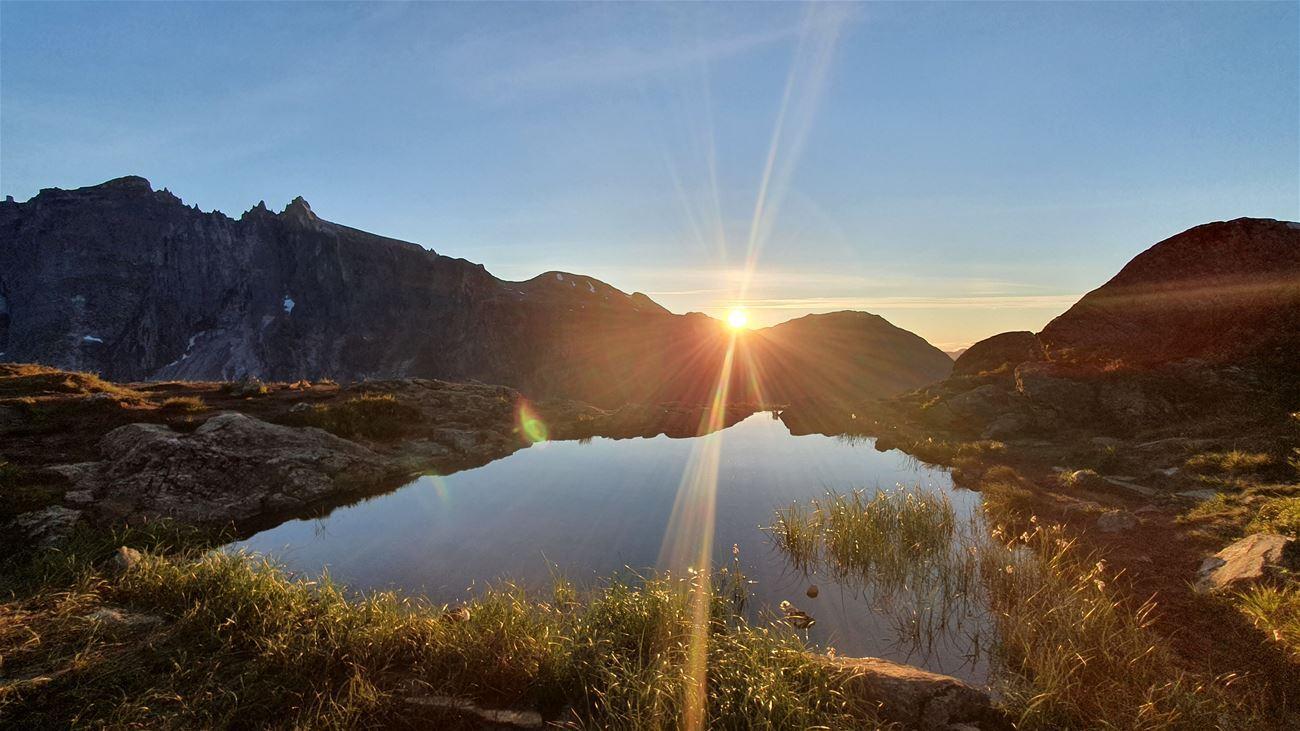 romsdalen natur fjell trollveggen litlefjellet