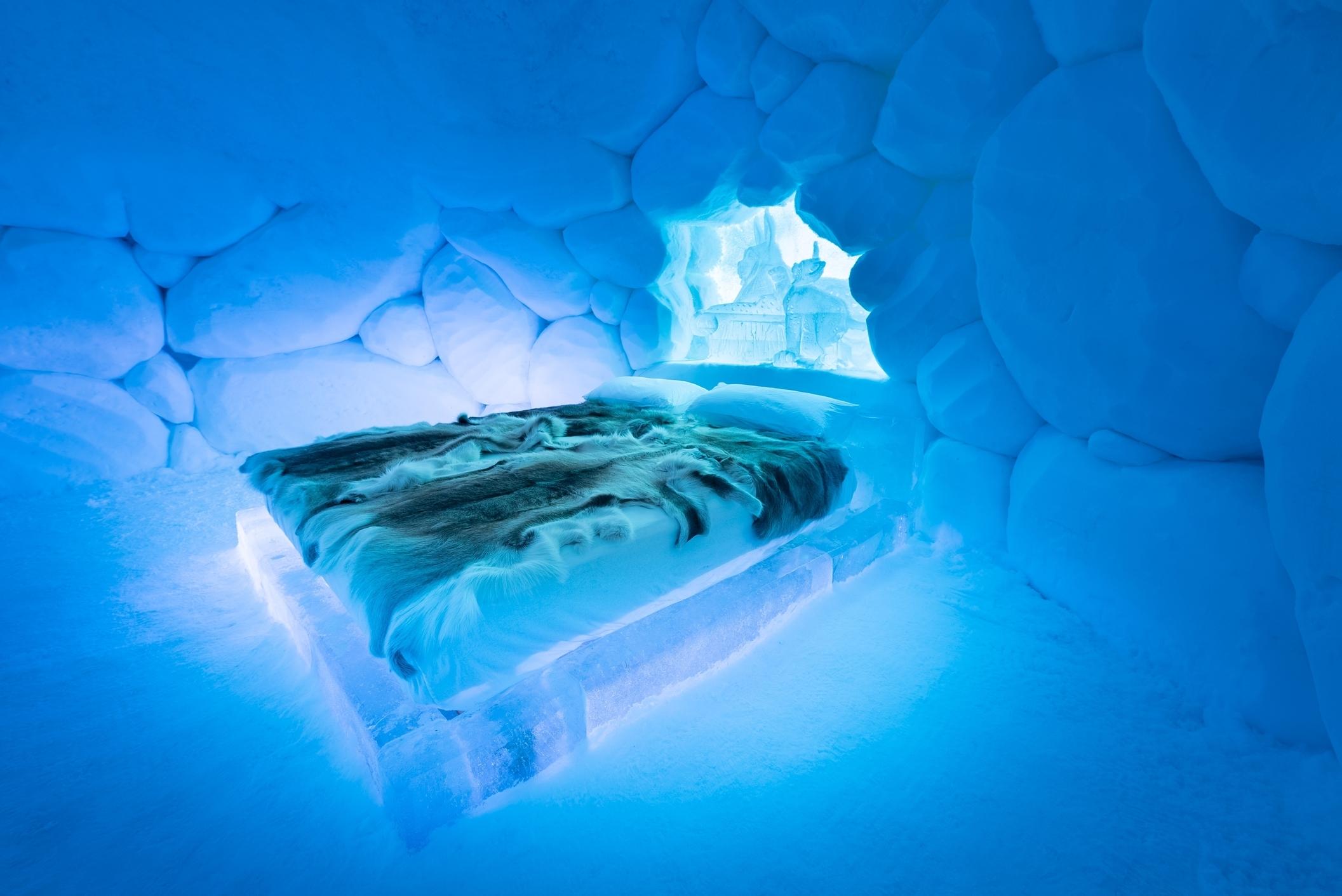 seng av is tromsø ice domes